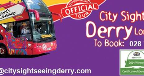 City Sightseeing Derry - Giant's Causeway Tour