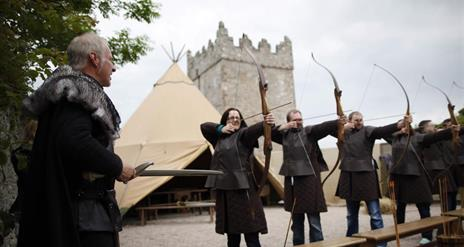 Game of Thrones® Tour – Archery Experience at Winterfell Castle