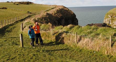 North Antrim Cliff Path - Dunseverick to Giant's Causeway